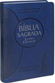 Bíblia letra gigante ra e rc capa luxo