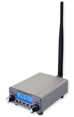 Transmissor de fm 1 watt de potencia