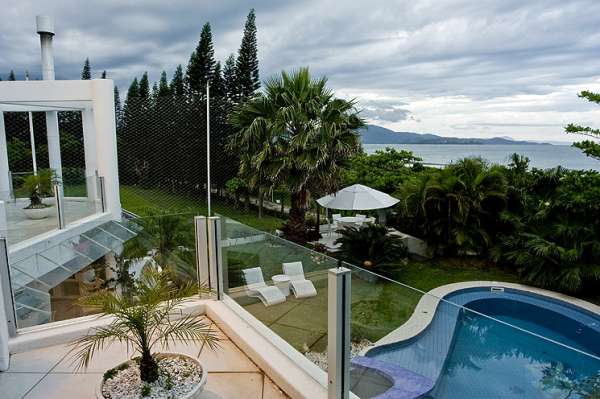 Fotos de Frente ao mar-praia jureré internacional-florianópolis-mansão 10