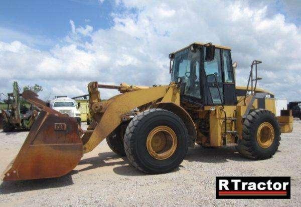 Wheel loader cat 962g, 2000 (reduced price)