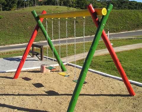 Playground de tronco e ferro !!! venha comprar direto do fabricante !!!