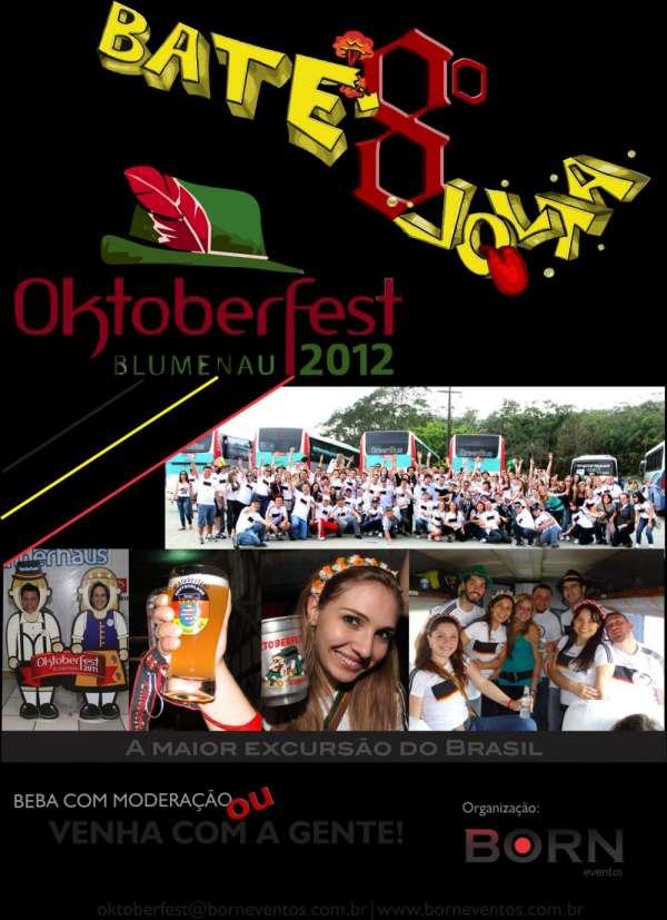 Excursão oktoberfest 2012 blumenau - curitiba
