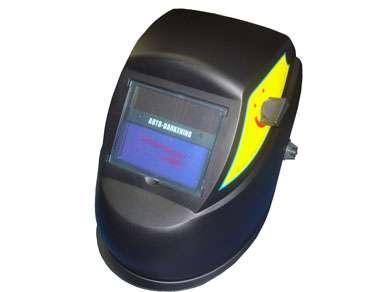 Máscara de solda automática hge-107 - uso em solda elétrica