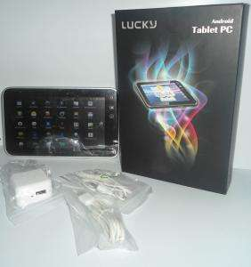 Tablet pc android lucky q07d 2 camaras tela lcd 7¨