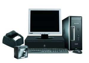 Fotos de Pdv - frente de caixa - monitor, teclado, cpu, leitor, gaveta, impressora fiscal 2