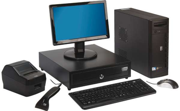 Fotos de Pdv - frente de caixa - monitor, teclado, cpu, leitor, gaveta, impressora fiscal 5