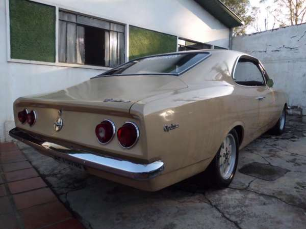 Opala 1979 de luxe coupê duas portas carro super alinhado