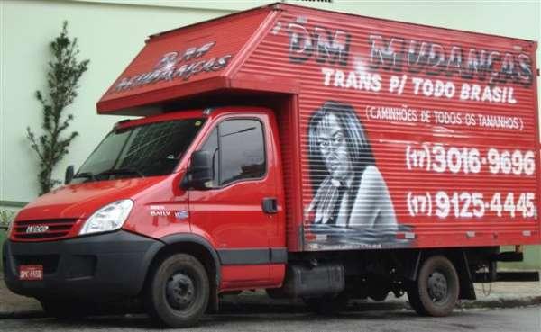 Dm - desttack mudanças, transportes e guarda-móveis