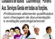 Babá doméstica Diarista Agencia Casa Forte