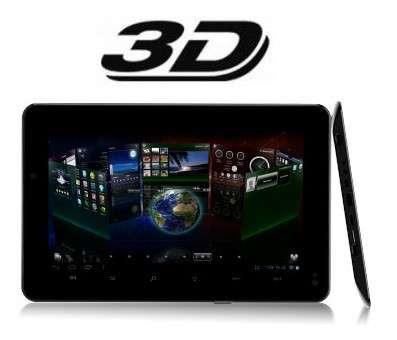 Tablet foston 4gb 3g câm android 4.0+wi-fi 3d tela cap