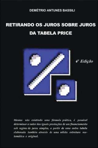 Anatocismo na tabela price em livro