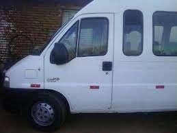 Tenho uma van ducato com 15 lugares para agregar com motorista