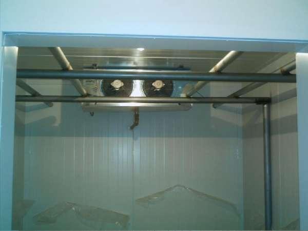 Câmaras frias e refrigeracão industrial
