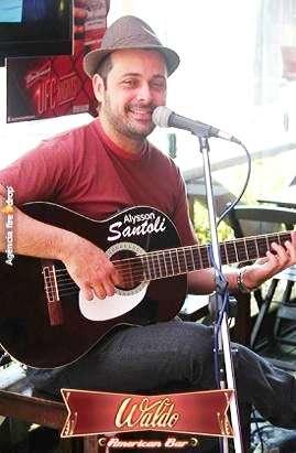 Alysson santoli voz e violão - música ao vivo curitiba parana