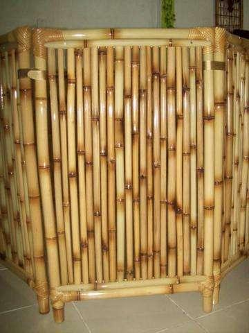 Cercado para cachorro de bambu cana da índia tratada em ...