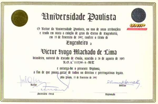 Cursos profissionalizantes técnicos e superiores ,legalizado , autenticado !