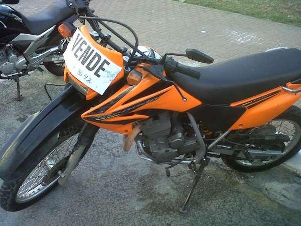 Vendo moto tornado 2008 ou troco por cg 150