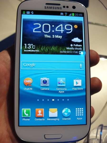 Samsung i9300 galaxy s3 ics teléfono