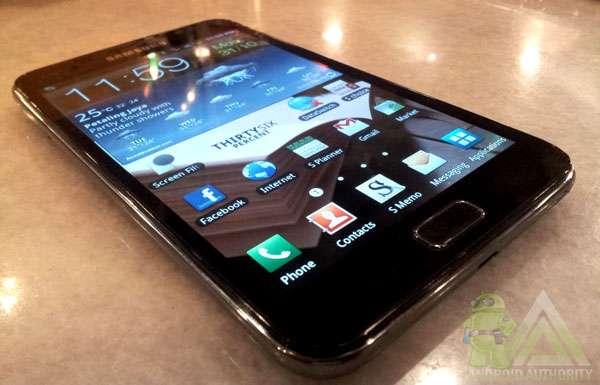 Samsung galaxy note n7000 quadband 3g gps desbloqueado.