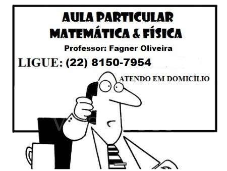 Aula particular - matemática e física