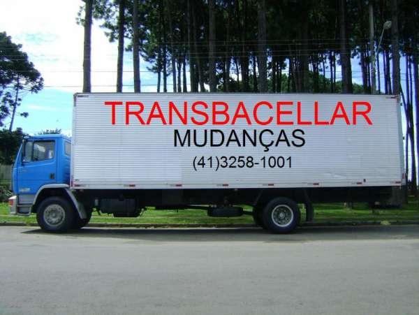 Transportadora de mudanças trans bacellar (41) 3258-1001 curitiba