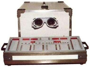 Optometro sl 7000d - acuidade visual