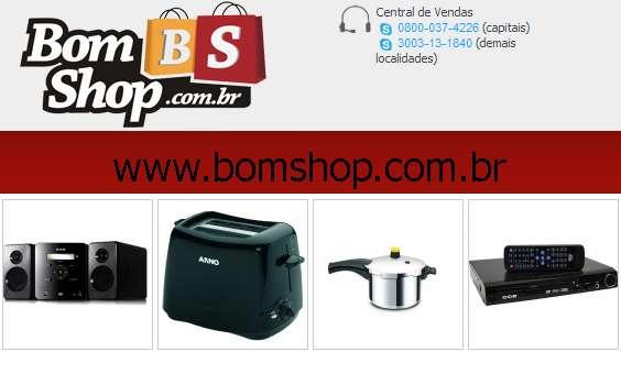 Bom shop - promoções de eletrodomésticos, promoções de eletrônicos