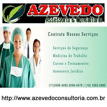 Azevedo consultoria - assessoria jurídica e consultoria em segurança e cipa