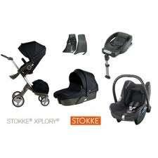 2012 v3 stokke xplory stroller set completo