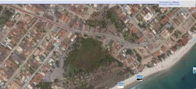 Localização pousada le village