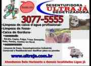 (31)3077.5555 Ultraja Dedetizadora BH Limpeza de Caixas de Gordura em BH Belo Horizonte