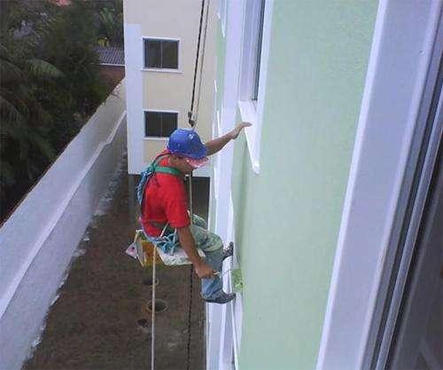 Pintura de prédio lavagem de edifício predial fachada rio de janeiro rj tel: 9391-7956