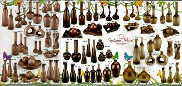 Vasos em cerâmica esmaltada - atacado para lojistas(21)8773-6407