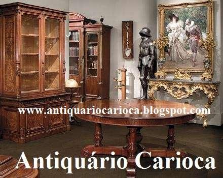 Compra e venda de antiguidades e móveis antigos no rj