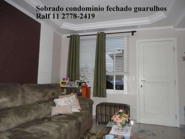 Casa condominio fechado 3 dorms a venda guarulhos