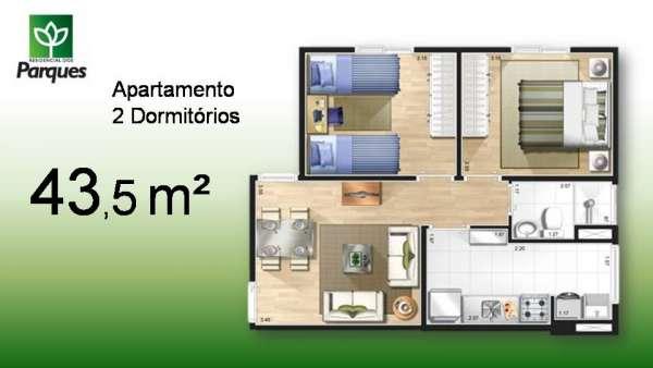 Apartamento novo 2 dormitórios campinas.