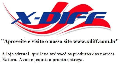 Loja de cosméticos pela internet x-diff
