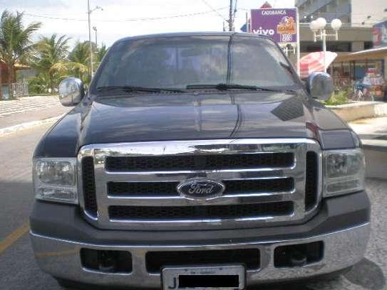 Ford f-250 xl-l completa, preto, diesel, 2 portas, ano 2003.