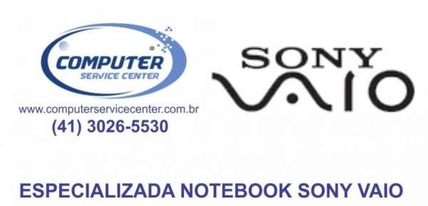Assistência técnica notebook sony vaio
