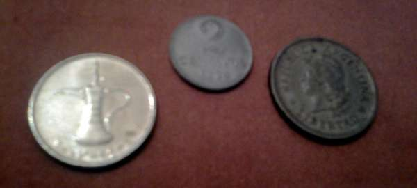Vendo moedas antigas: brasileira, argentina e dos emirados arabes