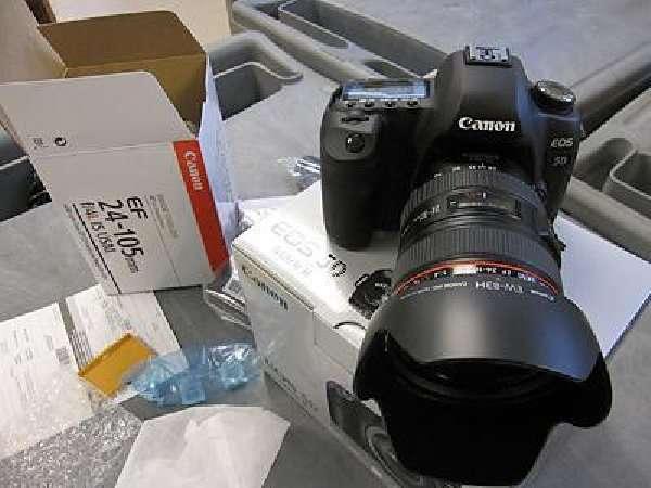 Vendas ... vendas ... vendas .. canon eos 5d mark ii câmera dslr com lente