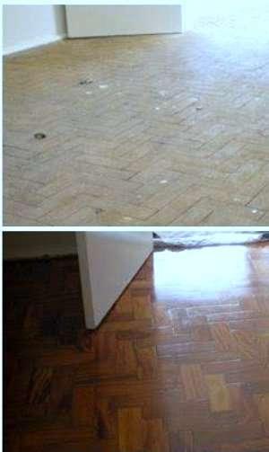 Jsiqueira renovação em pisos de madeira 97481-3520
