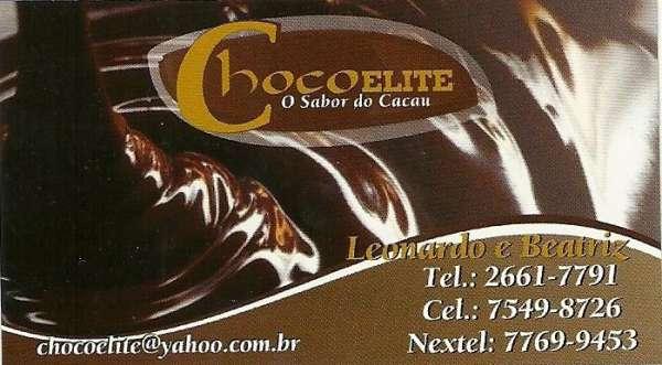 Trufas da chocoelite qualidade e variedade