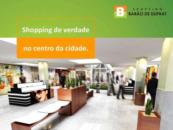 Lojas de shopping center na região da 25 de março para locação.