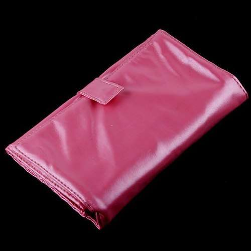 Kit com 20 pincéis rosa para maquiagem - frete grátis