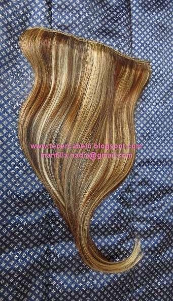 Mega hair tecemos cabelo humano por metro