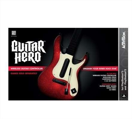 Ps3 guitar hero 5 stand-alone guitar visite o site www.comprausa.com