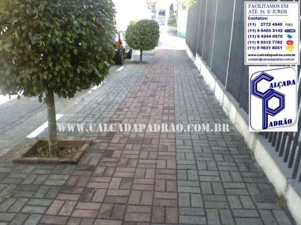 Reforma de calçadas e áreas externas, lei pmsp, intertravados e ecológico t.(11) 2772 4940