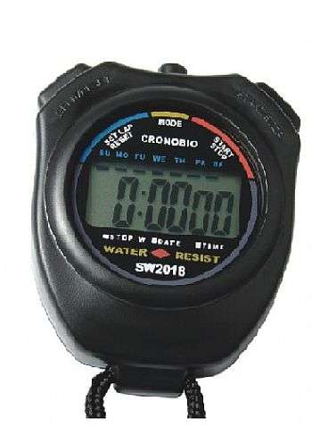 Cronômetro digital a prova d' água cod 6201