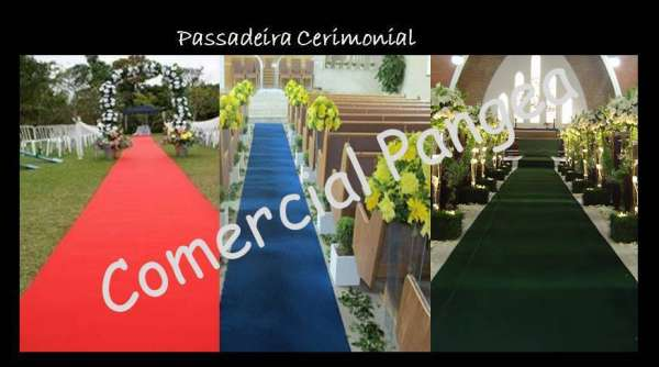 Tapete passadeira igreja casamento eventos